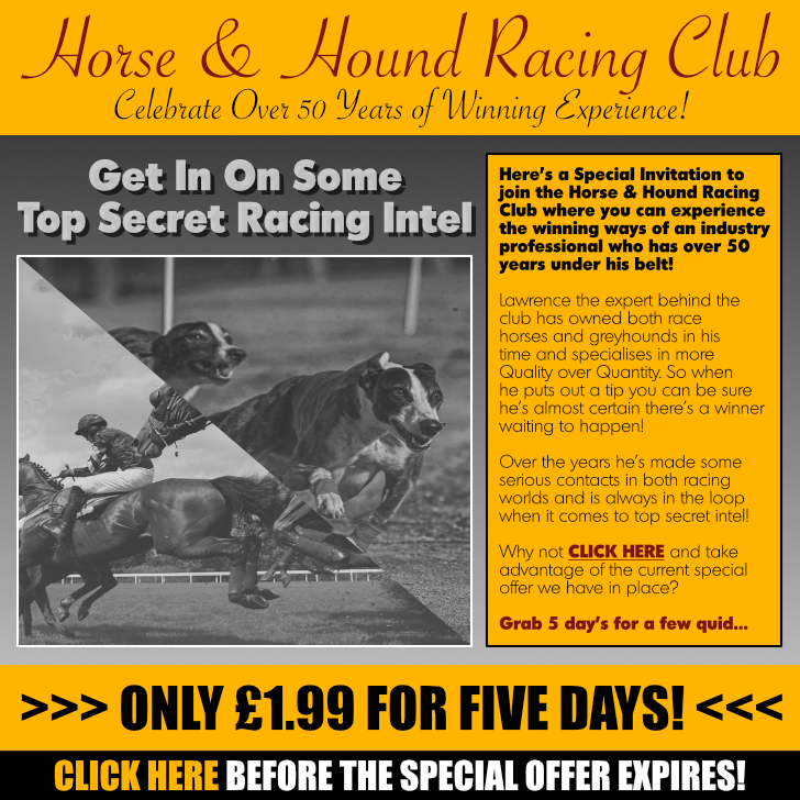 Horse And Hound Racing